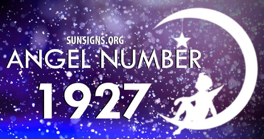 angel number 1927