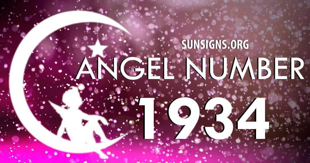 angel number 1934