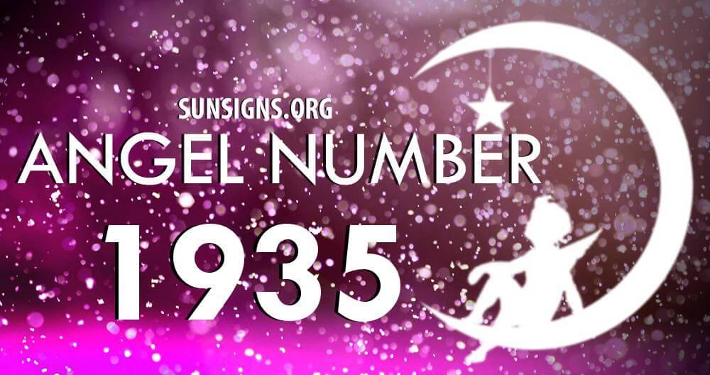 angel number 1935