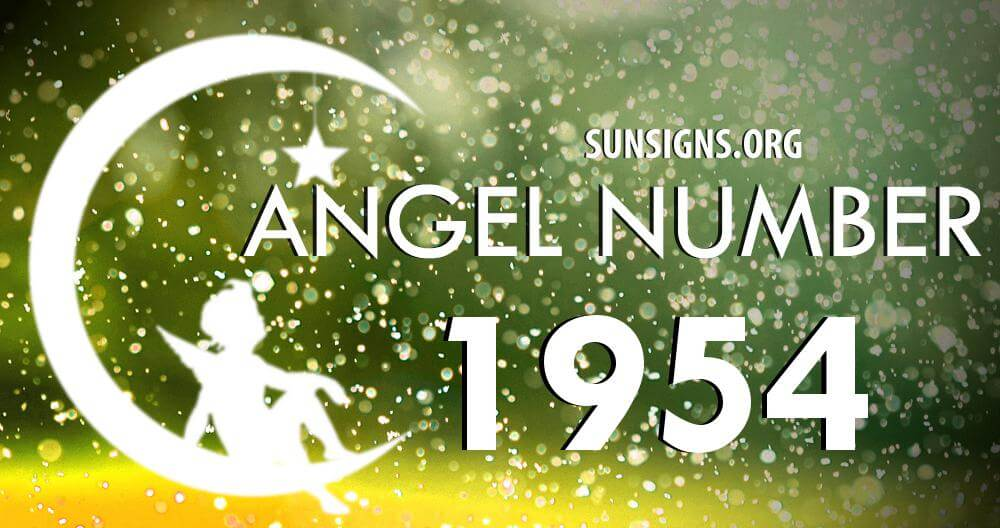 angel number 1954