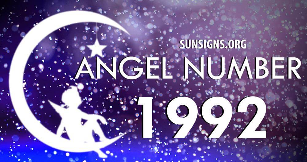 angel number 1992