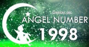 angel number 1998