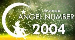 angel number 2004