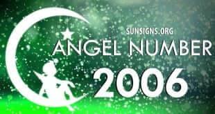 angel number 2006