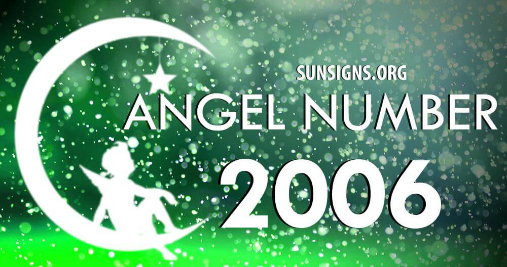 angel number 2006