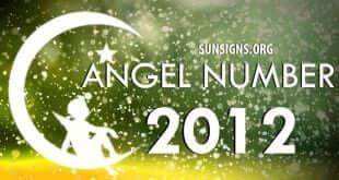 angel number 2012