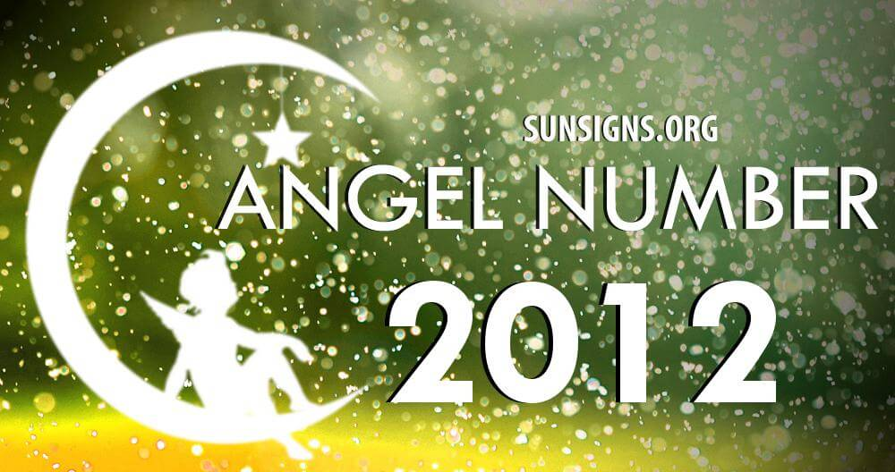 angel number 2012