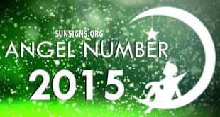 angel number 2015