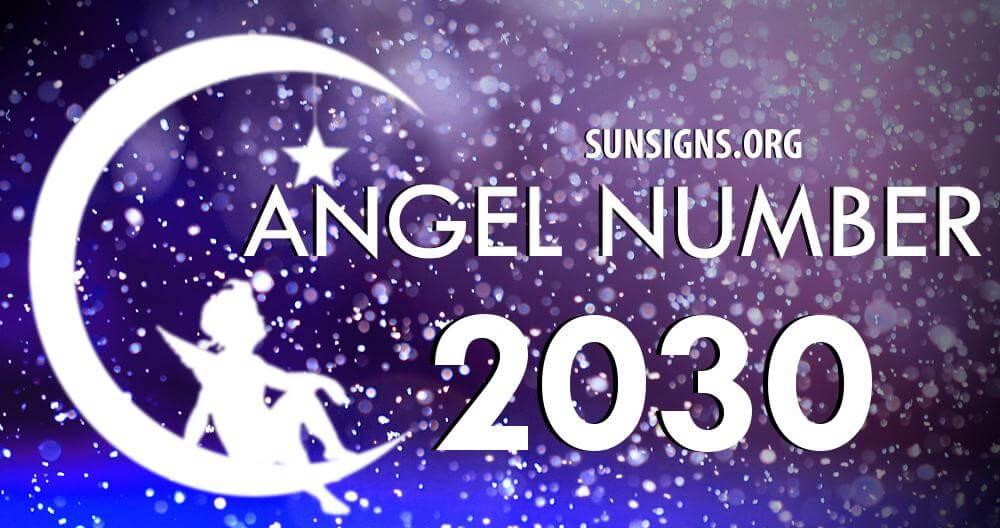 angel number 2030