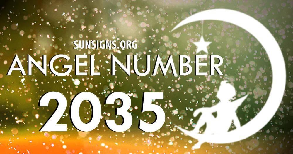 angel number 2035