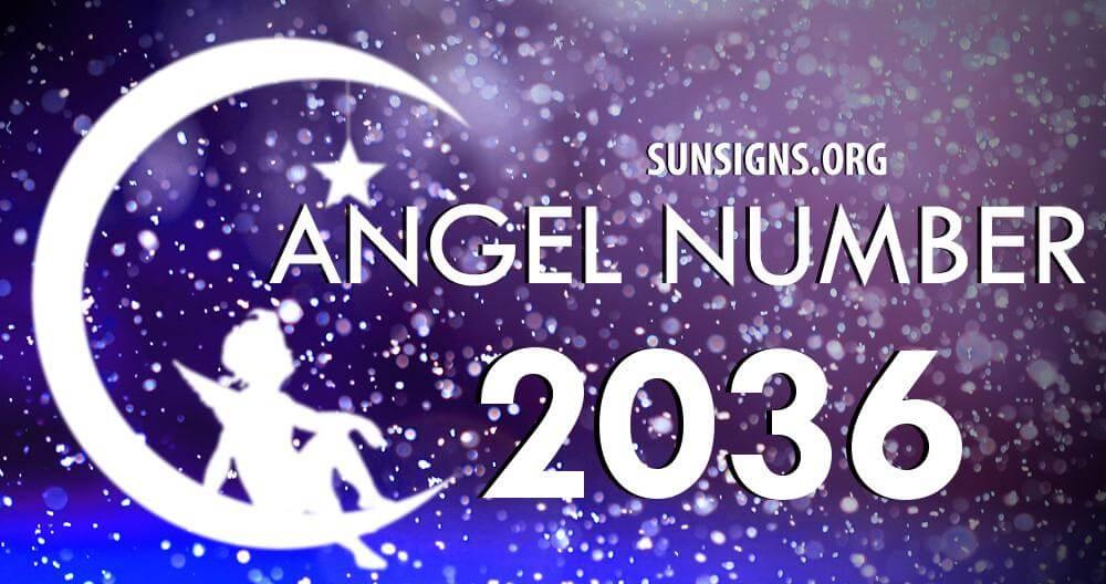 angel number 2036