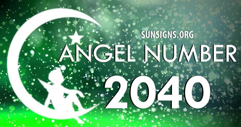 angel number 2040