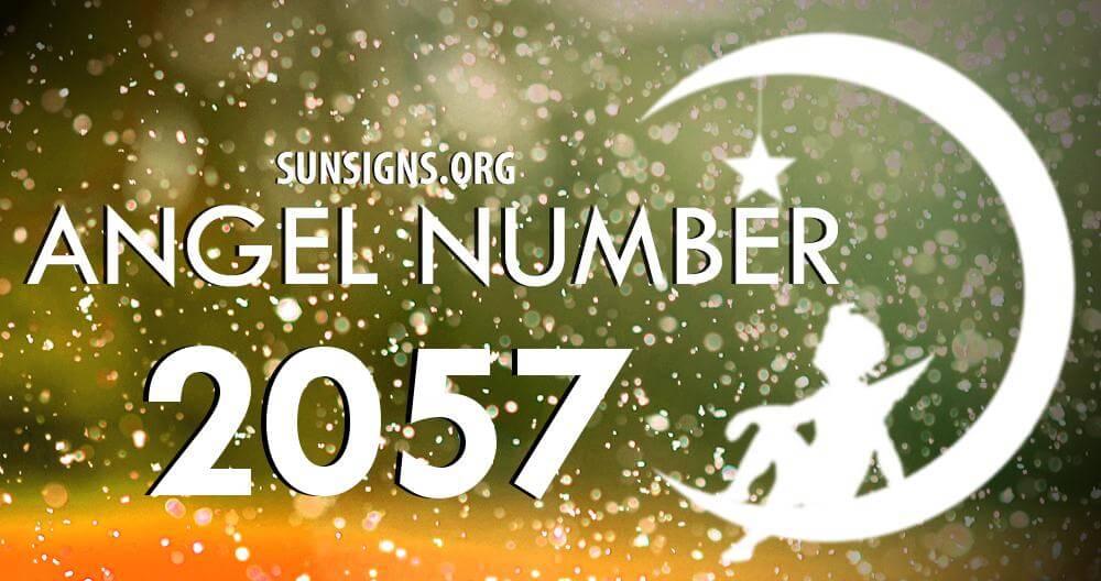 angel number 2057