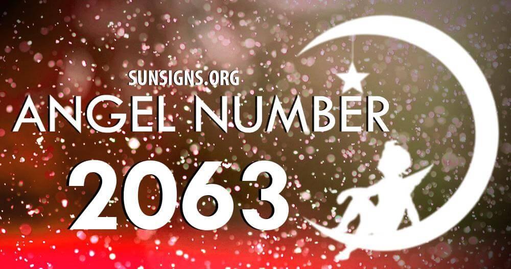 angel number 2063