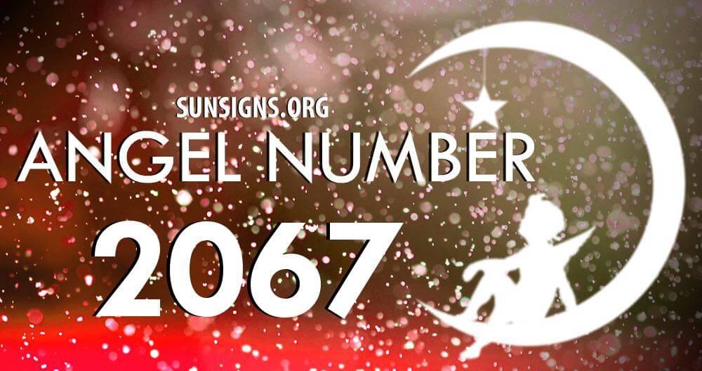 angel number 2067