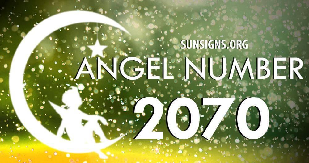angel number 2070