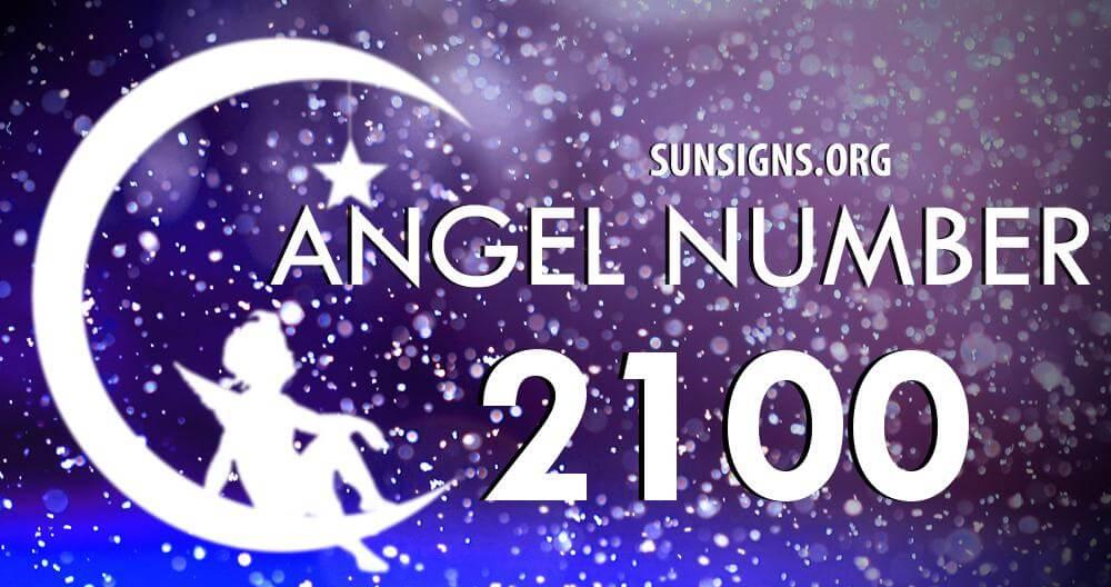 angel number 2100