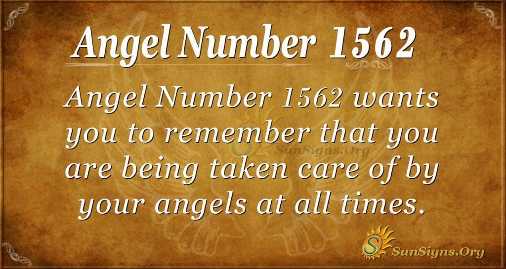 Angel Number 1562