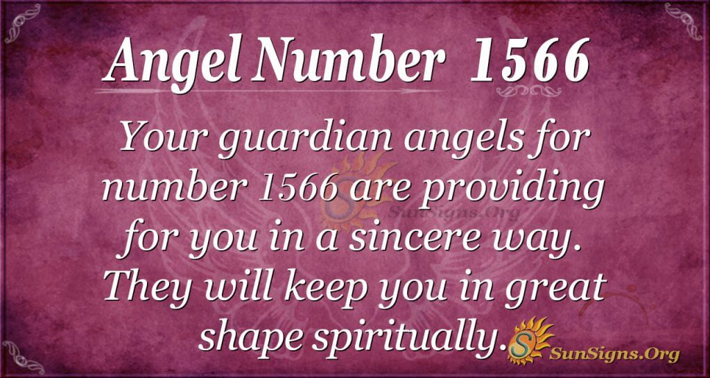 Angel Number 1566