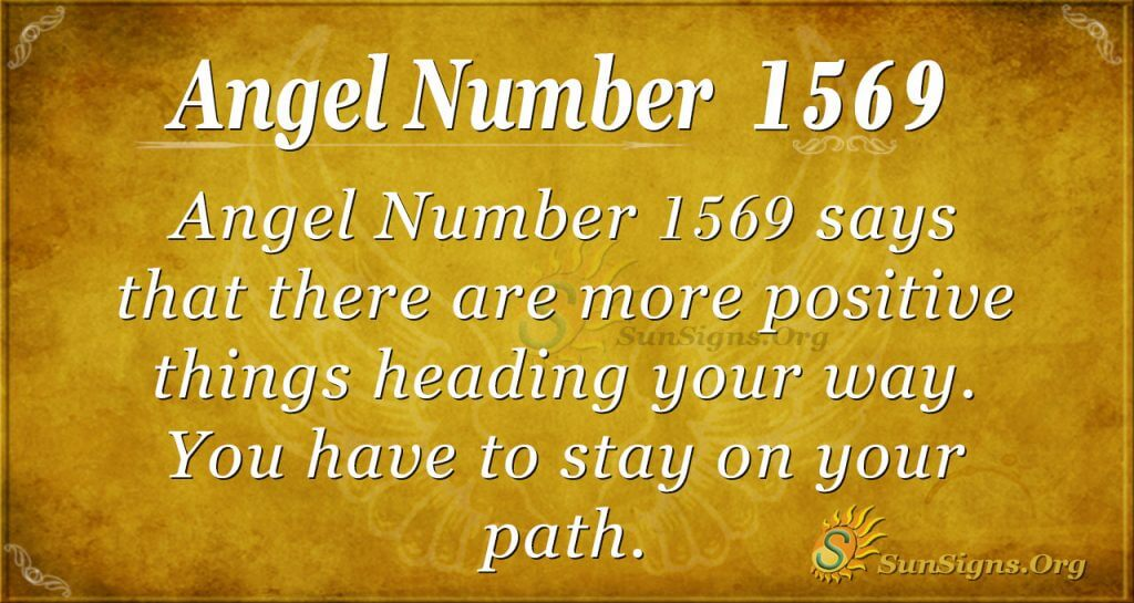 Angel number 1569
