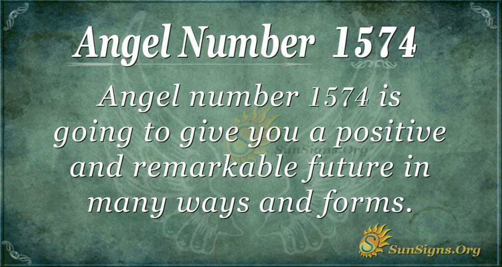 Angel Number 1574