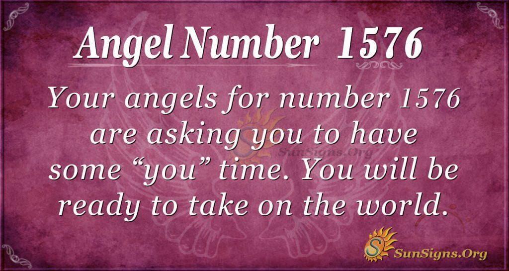 Angel Number 1576
