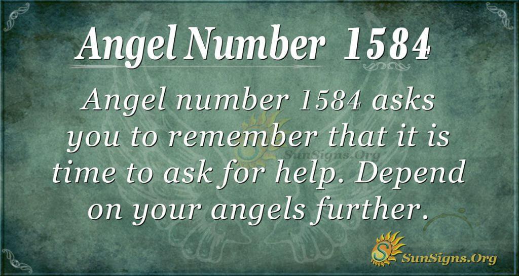 Angel Number 1584