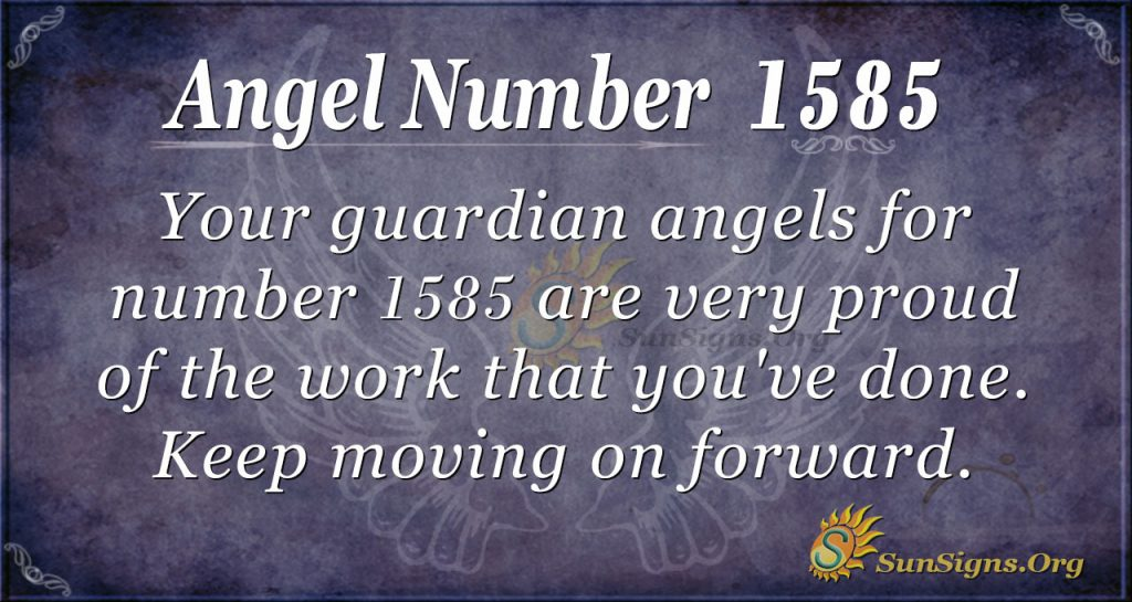 Angel Number 1585