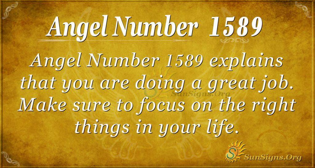 Angel Number 1589