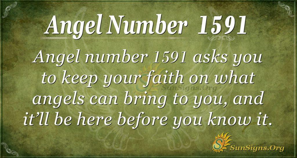 Angel Number 1591