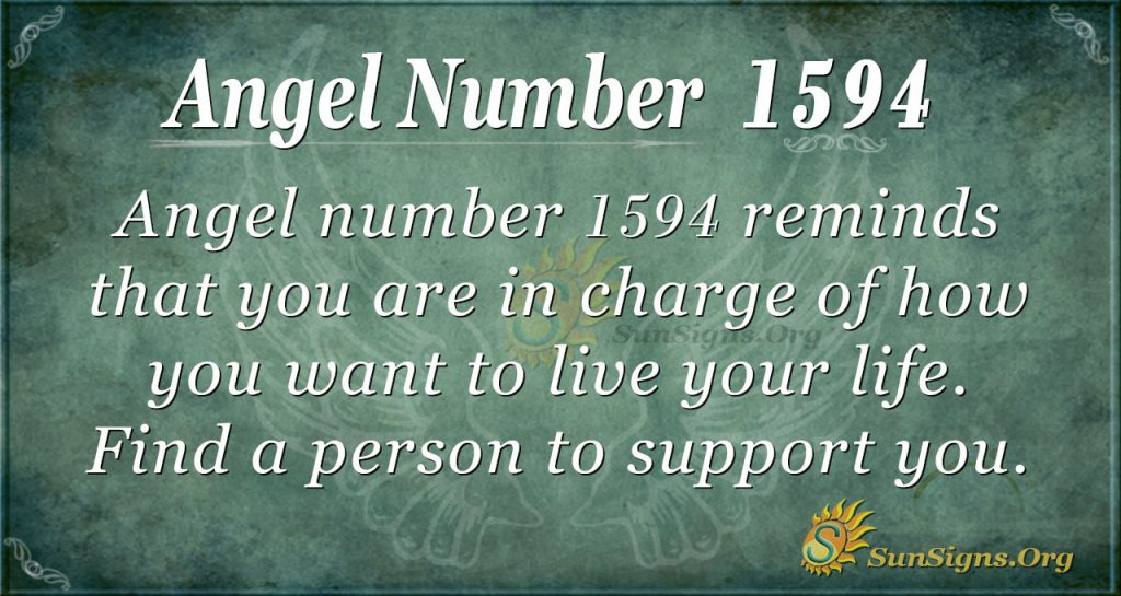Angel Number 1594