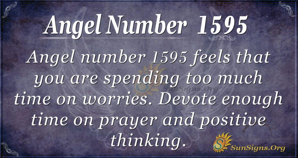 Angel Number 1595