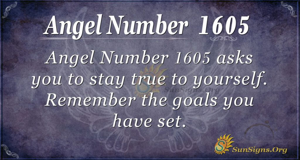 Angel Number 1605