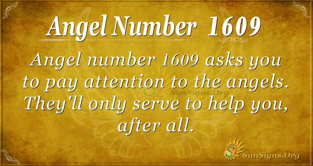 Angel Nuber 1609