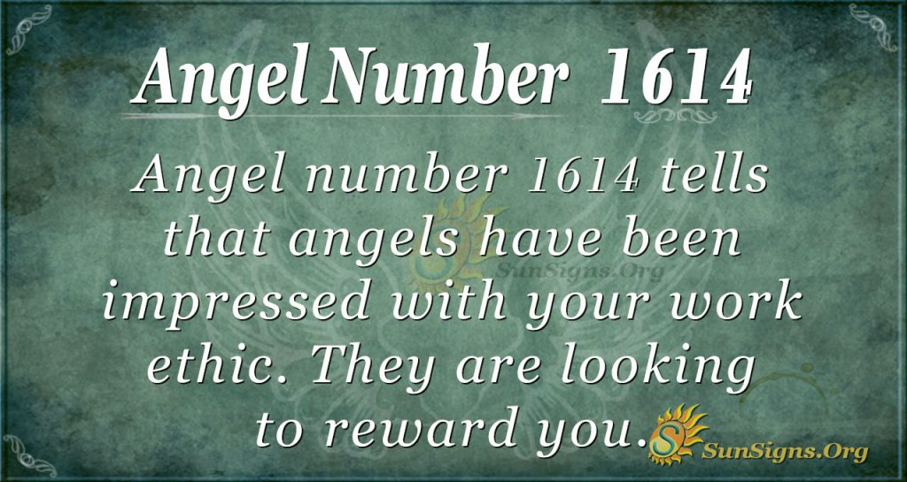 Angel Number 1614