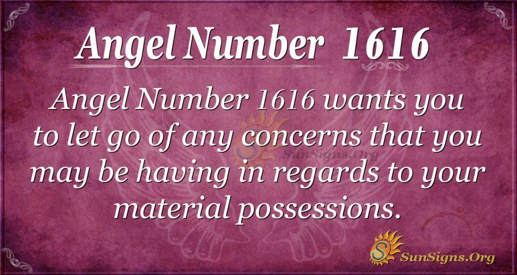 Angel Number 1616