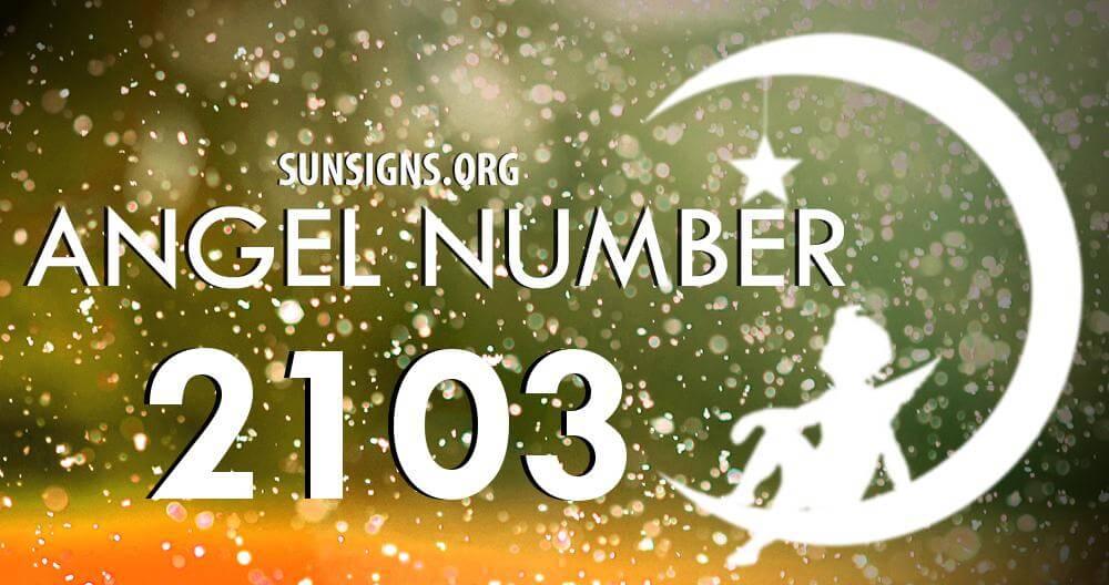 angel number 2103