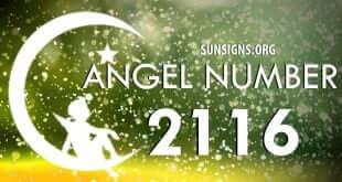 angel number 2116