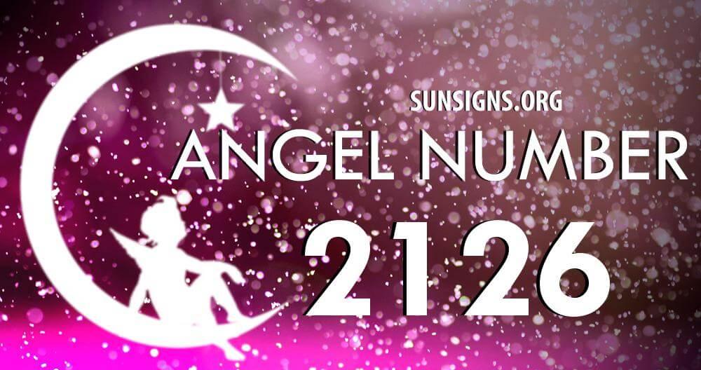 angel number 2126