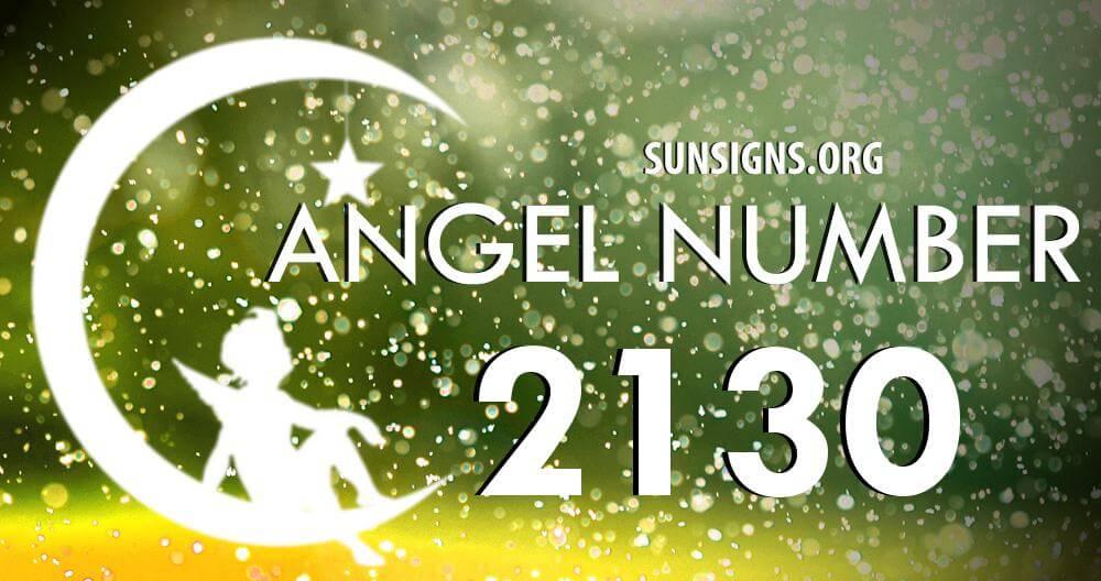 angel number 2130