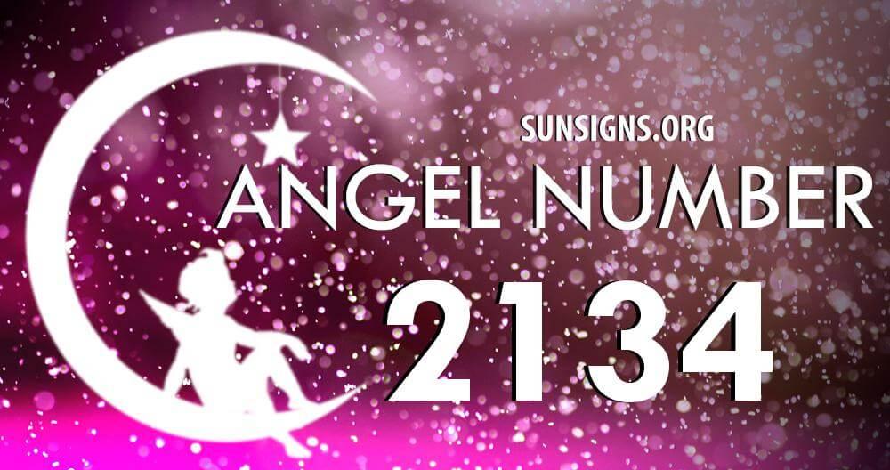 angel number 2134