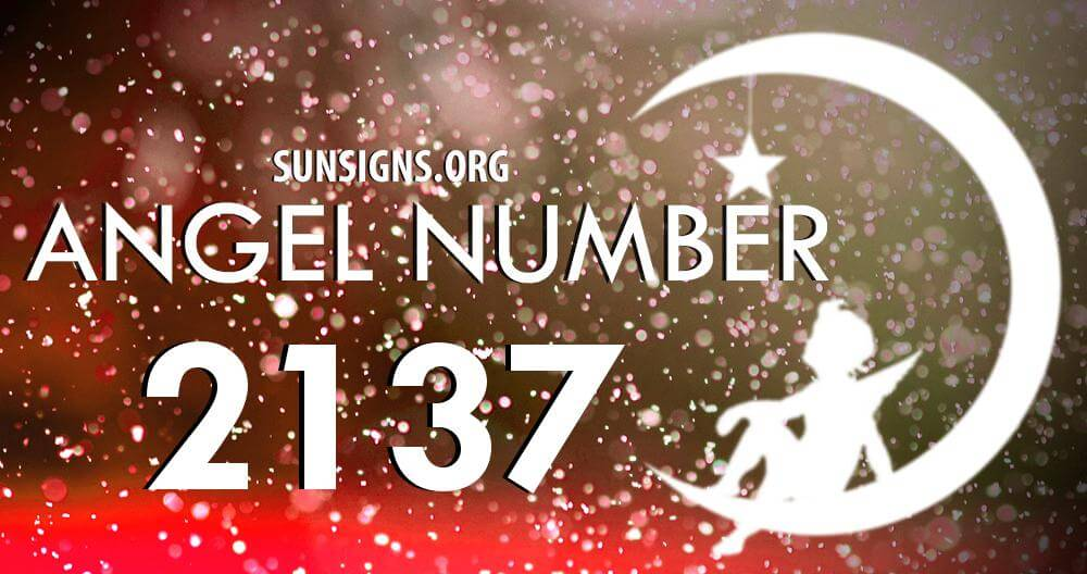 angel number 2137