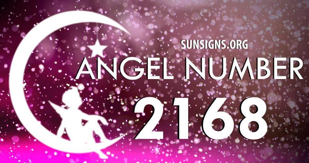 angel number 2168