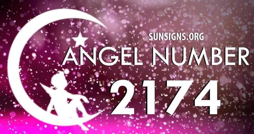 angel number 2174