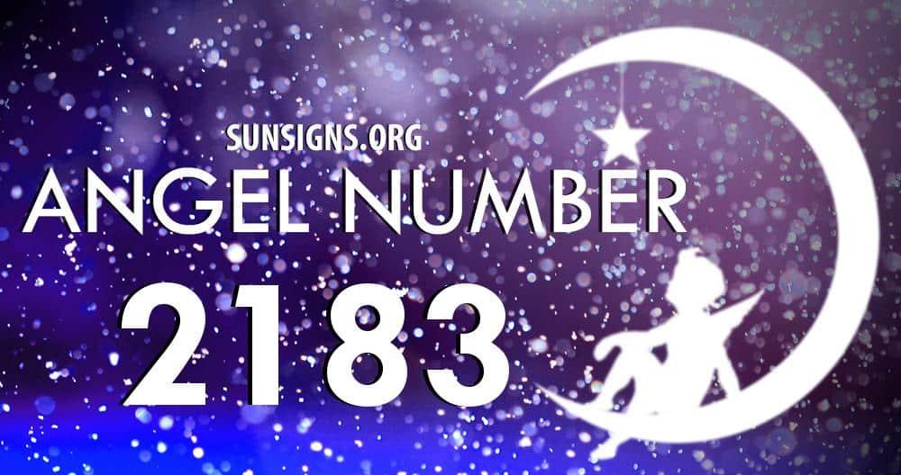 angel number 2183