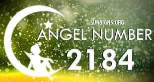 angel number 2184