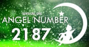 angel number 2187
