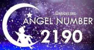angel number 2190