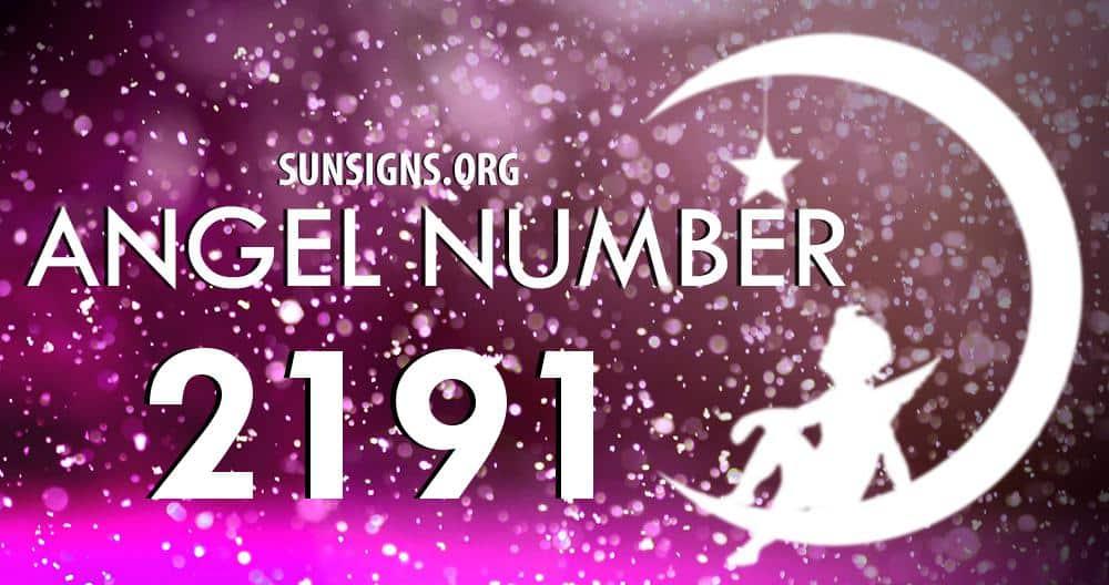 angel number 2191