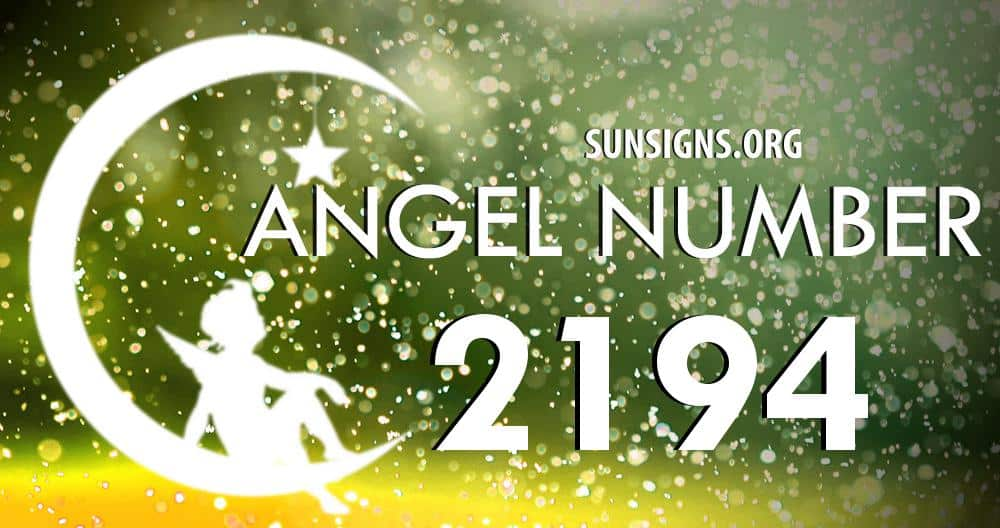 angel number 2194